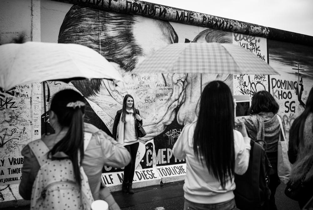 Baiser : mur de Berlin