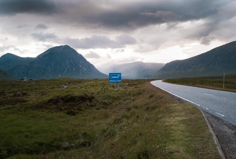 Ecosse : sur la route de Glencoe