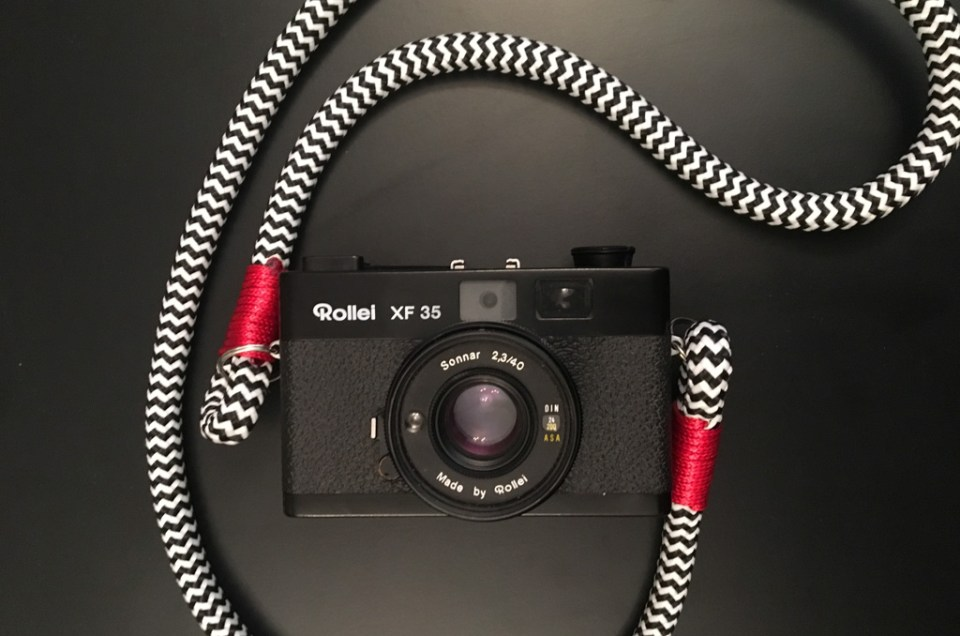 Hyperion Camera Strap : nouvelle sangle de cou
