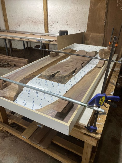 Epoxy Mold with Clamps