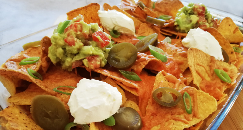Pulled Chicken Nachos - Thomas Culinair