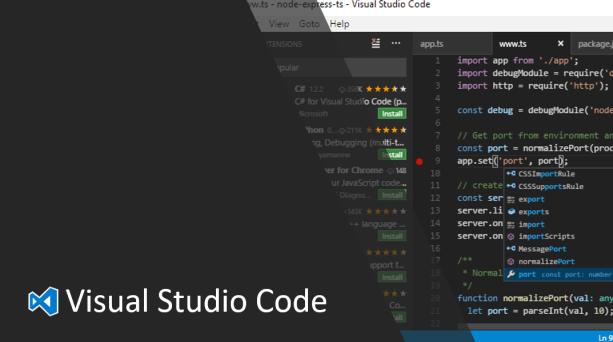 Visual Studio Code Productivity Tips & Favorite Extensions