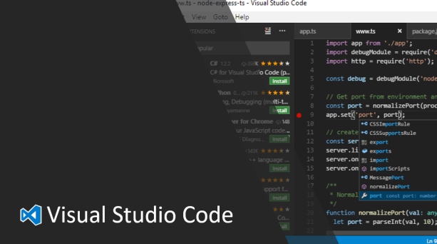 Visual Studio Code Productivity Tips & Favorite Extensions
