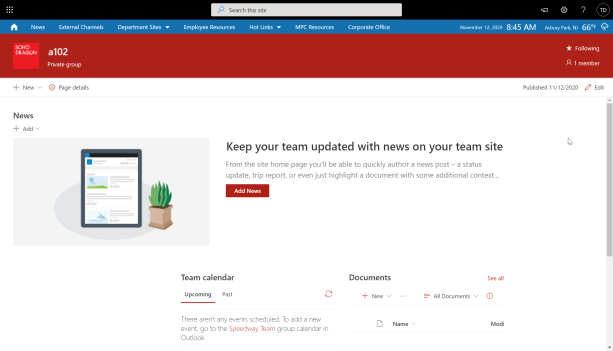 Remove Left Navigation on Modern Team Sites