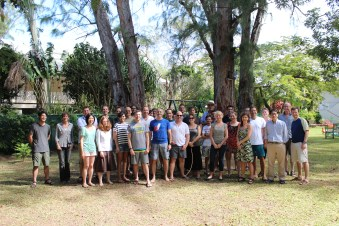 """20 years of microRNA Research Meeting"" Barbados 2014. The fantastic group of participants."