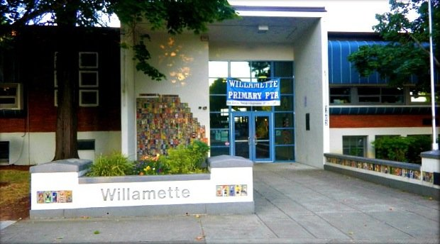 Reading at Willamette Primary School