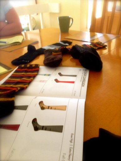 Some of the great patented socks they manufacture right here in the US.