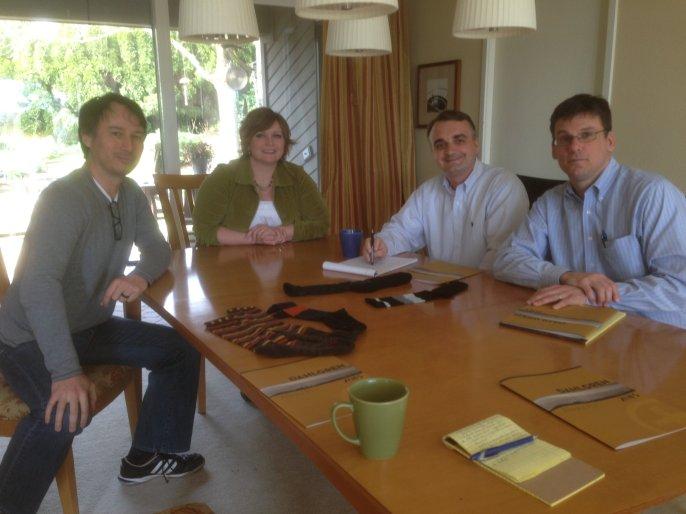 Great meeting with Alex Kachirisky & Kris Dahlgren of Dahlgren Footwear