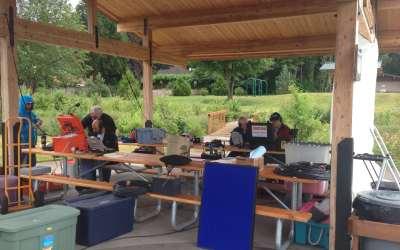 Lake Oswego Amateur Radio Emergency Services Field Day 2014