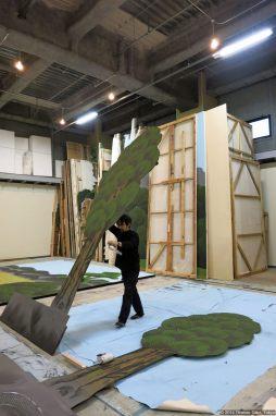 Kabuki-za (歌舞伎座) - Bühnenbildner-Atelier