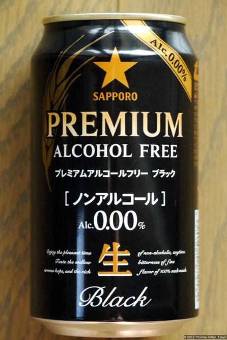 Sapporo Premium Alcohol Free Black (2013.06)