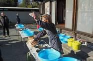 Monzō Farm House (古民家文蔵), Aizome (藍染) Workshop