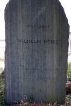 Aoyama Friedhof (青山霊園), Wilhelm Heise