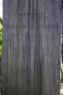 Aoyama Friedhof (青山霊園), Cäsar Junghenn