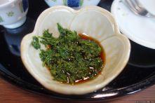 Takumi no yakata (匠の館) (tea with ponzu)