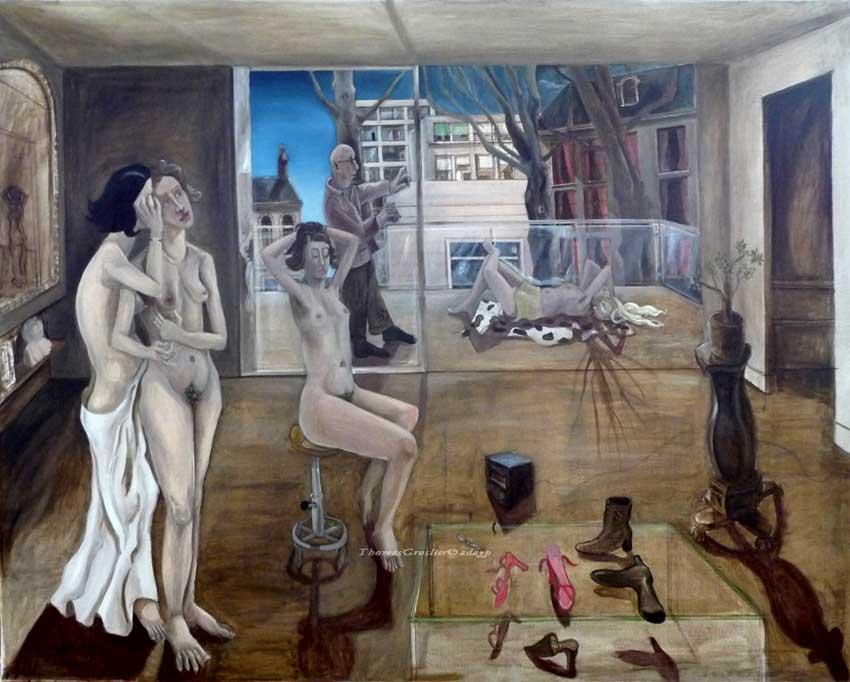 Thomas Groslier - Les poseuses