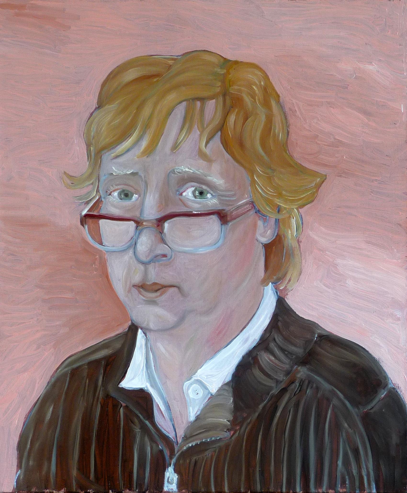 Groslier, autoportrait