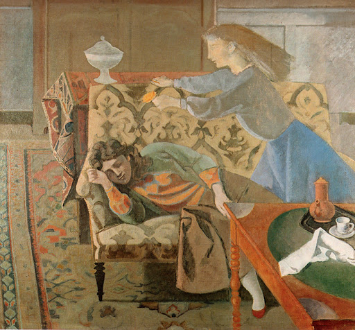 Balthus (1908 -2001) Le rêve II