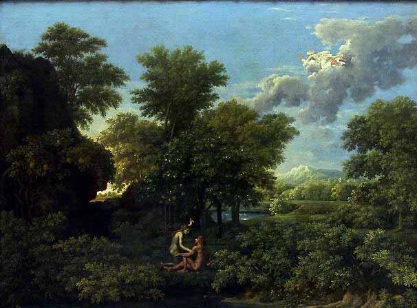 Nicolas Poussin, Le printemps, Musée du Louvre