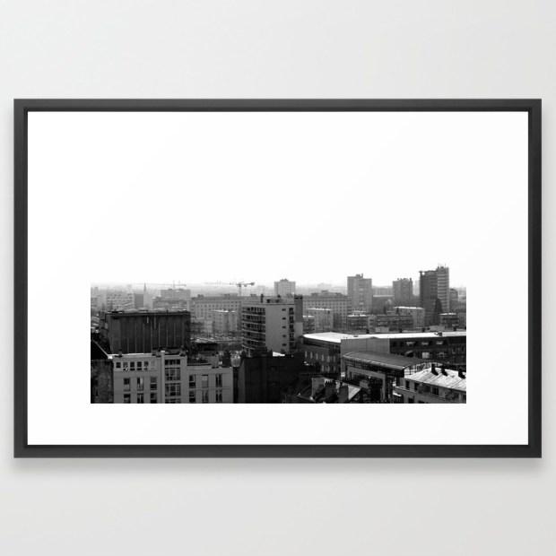 a-citys-contrast-rouen-framed-prints