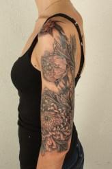 Thomas Hooper Acanthus Flower Sleeve Tattoo201003