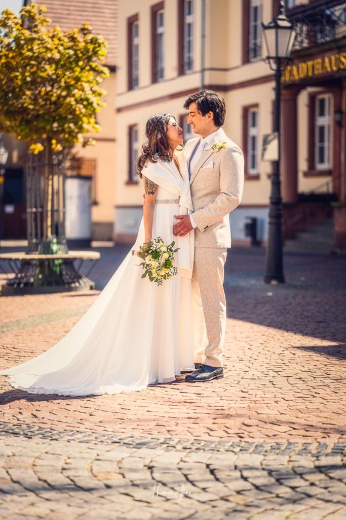Brautpaar , Braut und Bräutigam, Fotograf