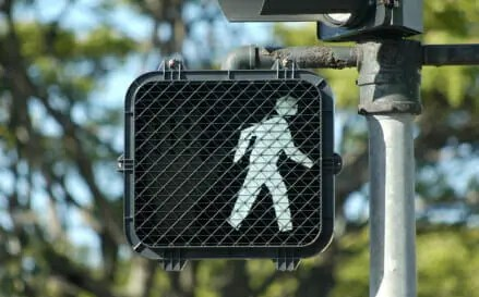 pedestrian crosswalk signal