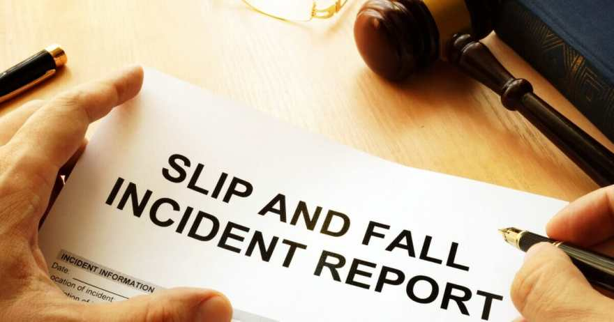 slip and fall laws in in texas