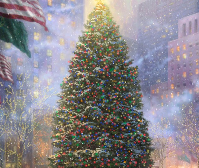 Christmas In New York Limited Edition Art