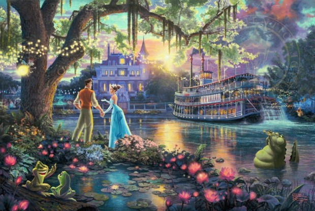 Disney Inspired Recipes with Thomas Kinkade Princess Tiana Recipe