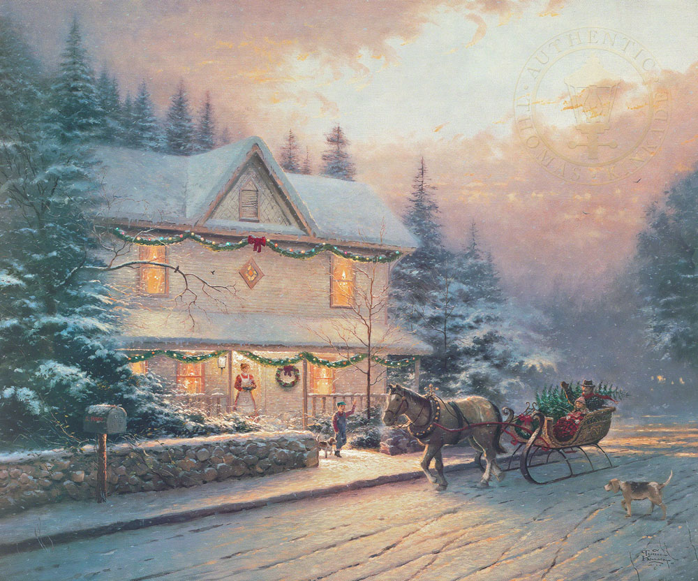 Victorian Christmas IV Paintings Amp Art Monterey