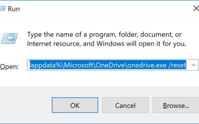 How To Reset Your OneDrive