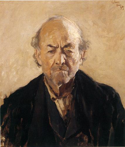 Painting by Carlos Federico Saéz, 1878-1901