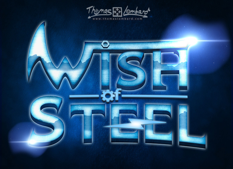 "Résultat final pour le logo Wish of Steel ""version longue"""