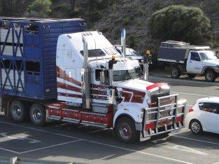 Un truck americain (pas que Adelaide mais bon...)