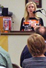 """Catherine Jordan, Contributing Author in """"Undead  Living"""" talking about her story """"The Supreme Race"""""""