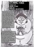 """Dummel-Dee"" For Bizarre  Fantasies By Mark Slade -  Illustrations by Thomas M.  Malafarina"