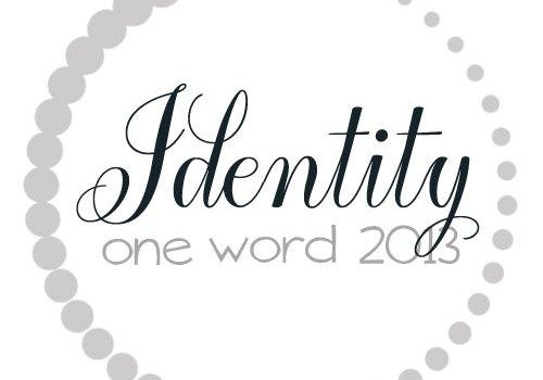 One Word 365: Identity