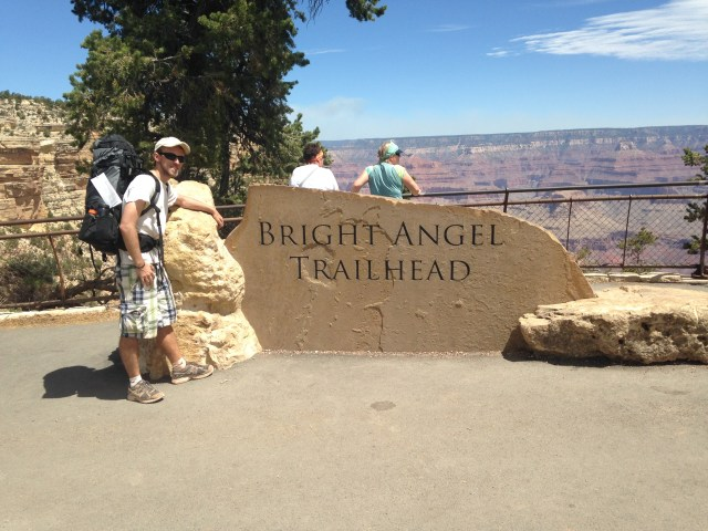 #RunningTo Grand Canyon Hike