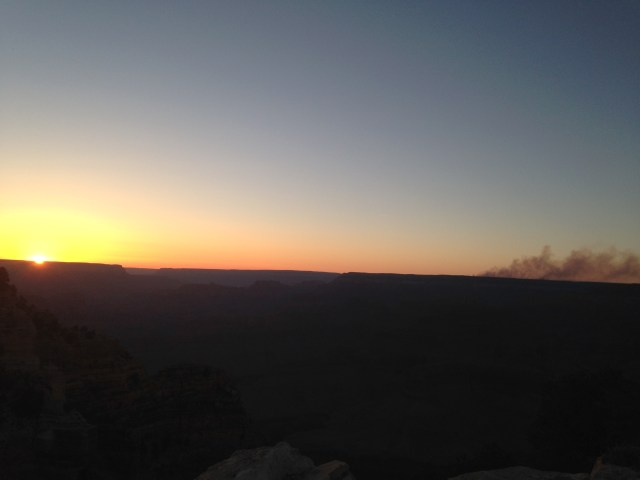 #RunningTo Grand Canyon Sunset