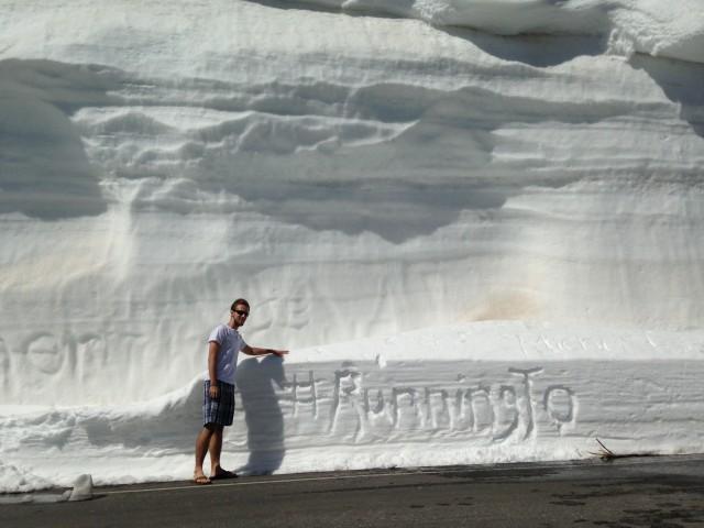 #RunningTo: Summer Solstice Snow