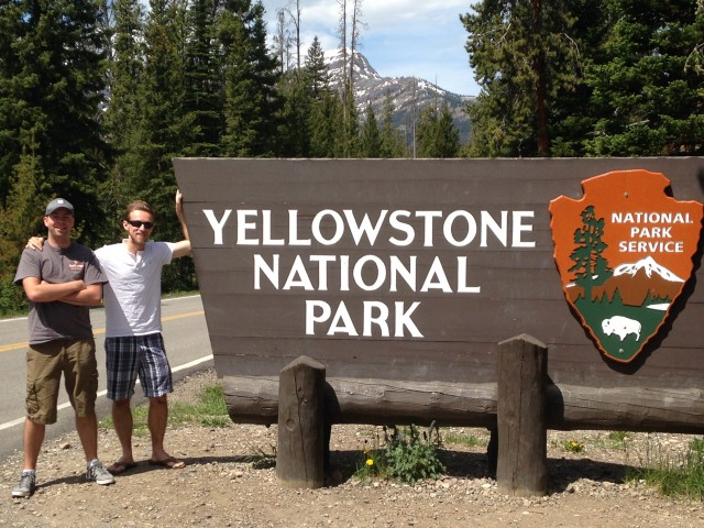 #RunningTo: Yellowstone National Park