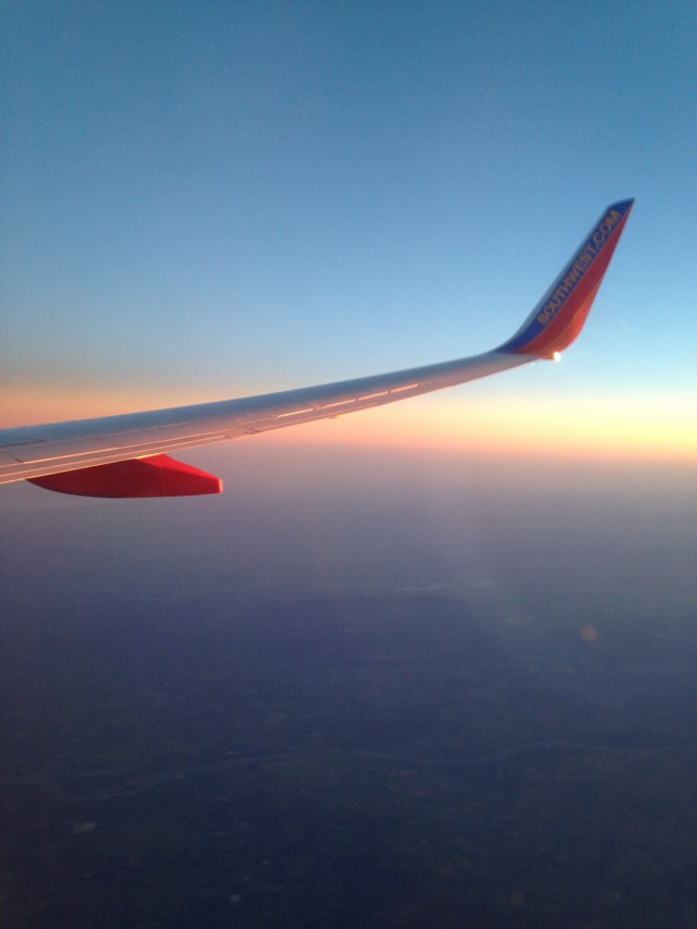 #RunningTo: Plane