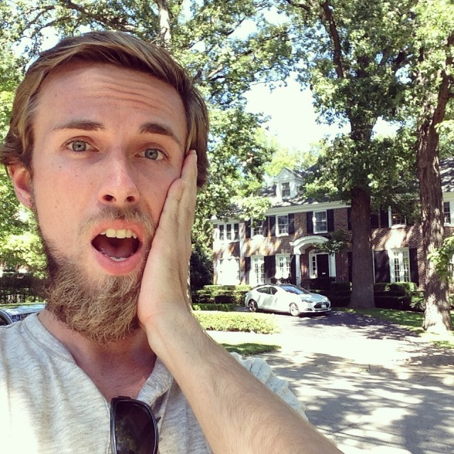 #RunningTo: Home Alone House