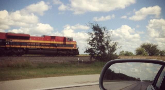 #RunningTo: Texas Train