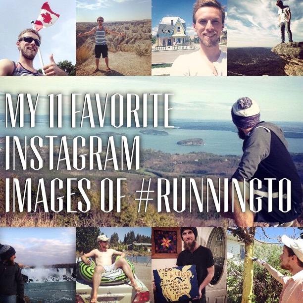 My 11 Favorite Instagram Images of #RunningTo