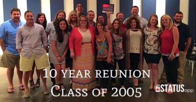 10-Year High School Reunion