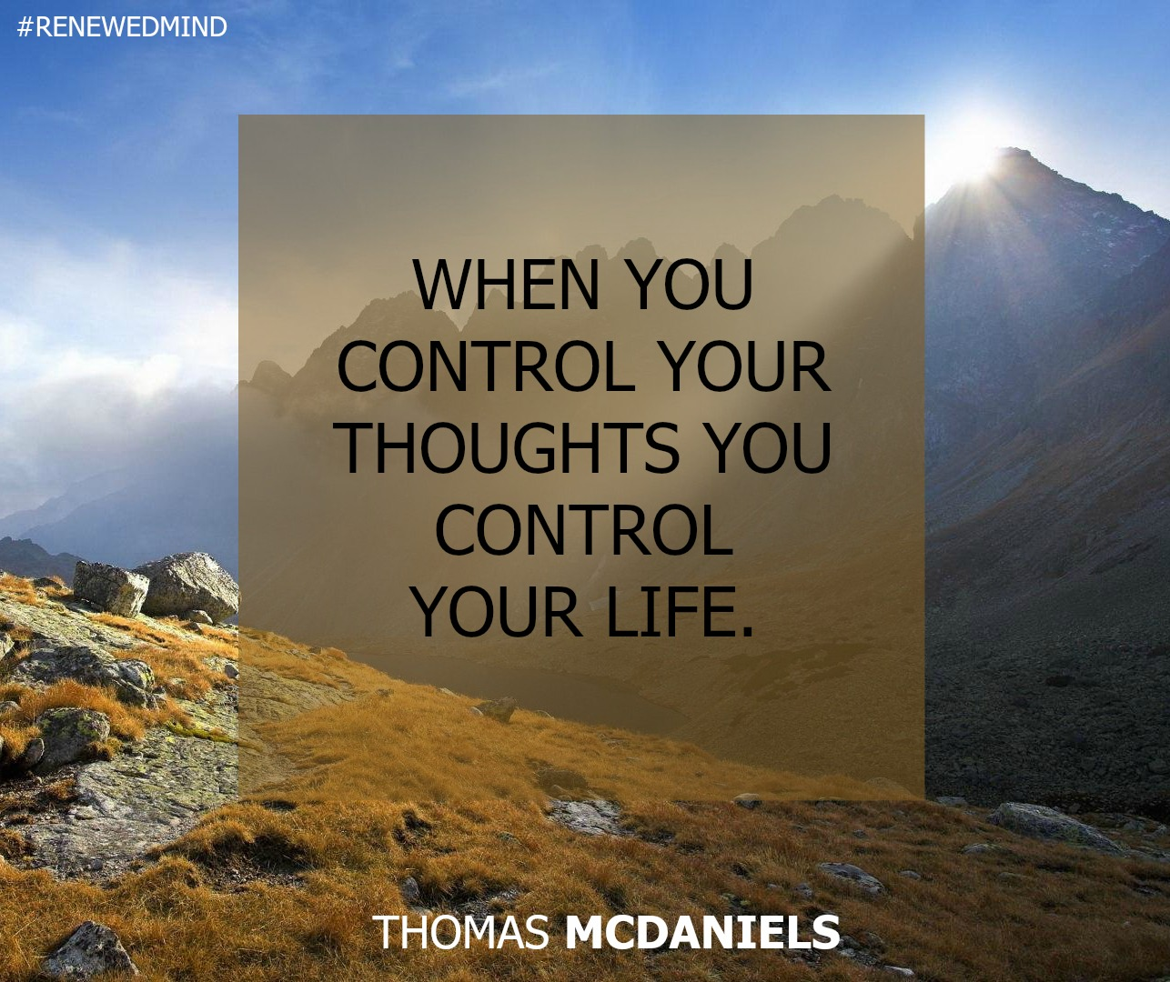 Hope is Not a Strategy - Thomas McDaniels