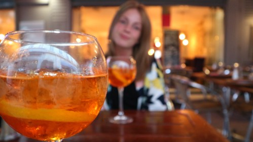 Aperol Spritz, ferie i Cannes