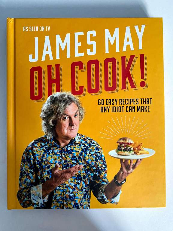 James May Oh Cook! cookbook